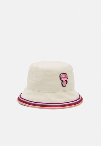 EXCLUSIVE BIARRITZ BUCKET HAT - Hat - natural