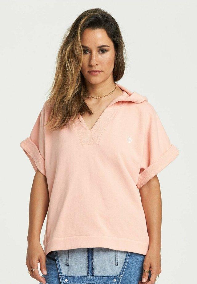 HUM ALONG - Hoodie - coral pink
