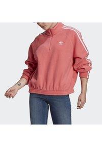 adidas Originals - FLEECE HZ - Fleecetröja - hazy rose - 3