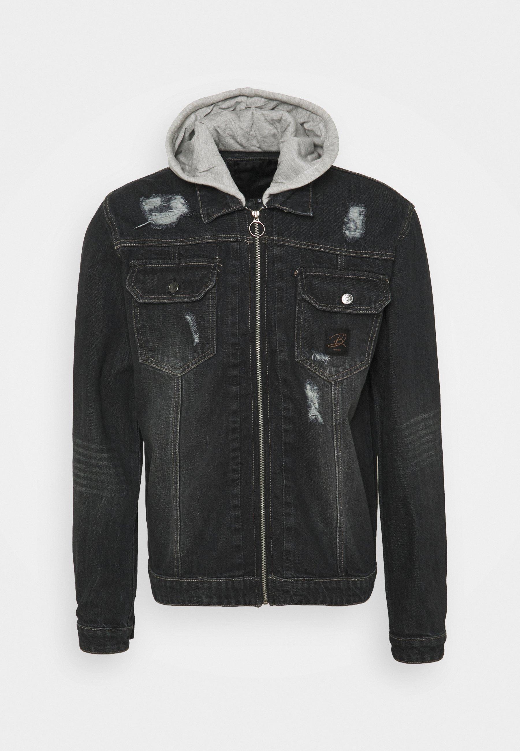 Women HOODED JACKET UNISEX - Denim jacket