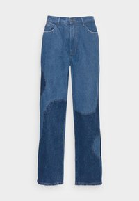 BLUE YIN AND YANG CUT AND SEW - Jeans relaxed fit - blue
