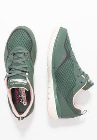 Skechers Sport - FLEX APPEAL 3.0 - Sneakers laag - olive/pink - 3