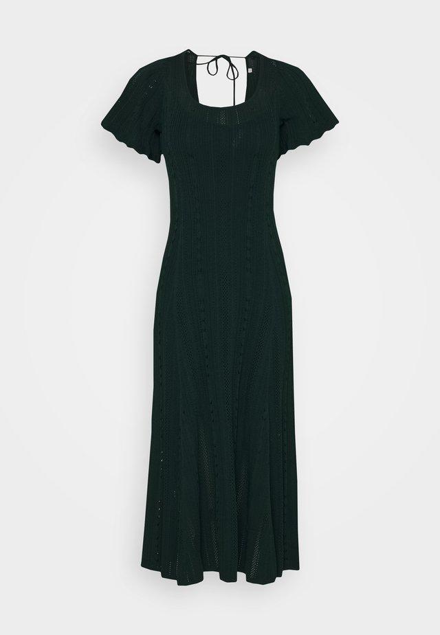 Jumper dress - vert bouteille