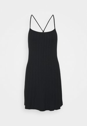 CAMI SHORT DRESS - Day dress - black