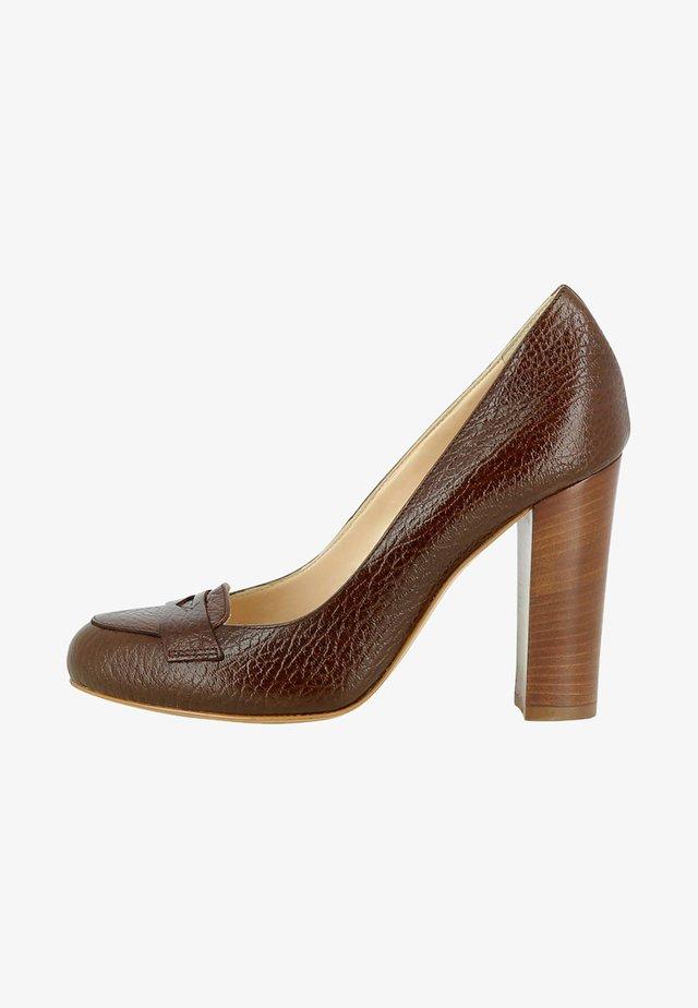 CRISTINA - Zapatos altos - brown
