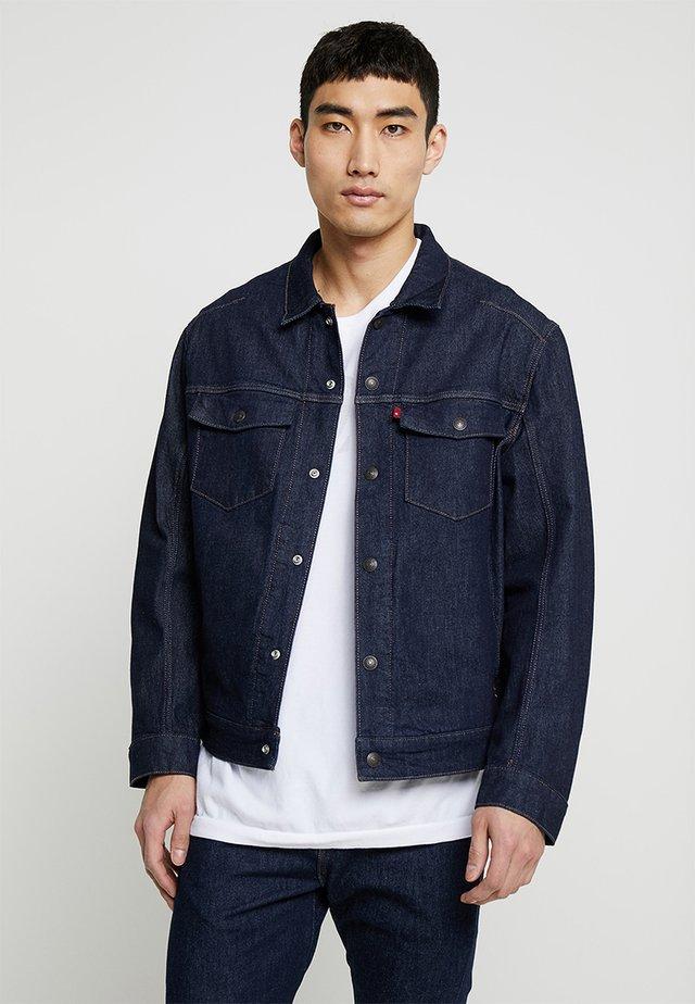 LEJ TRUCKER - Veste en jean - rinse denim