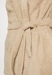 Anna Field - TERRY BATHROBE  - Dressing gown - beige - 5