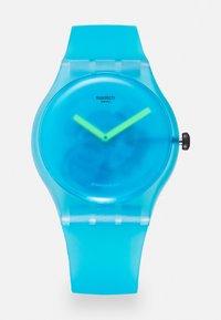 Swatch - OCEAN BLUR UNISEX - Hodinky - blue - 0