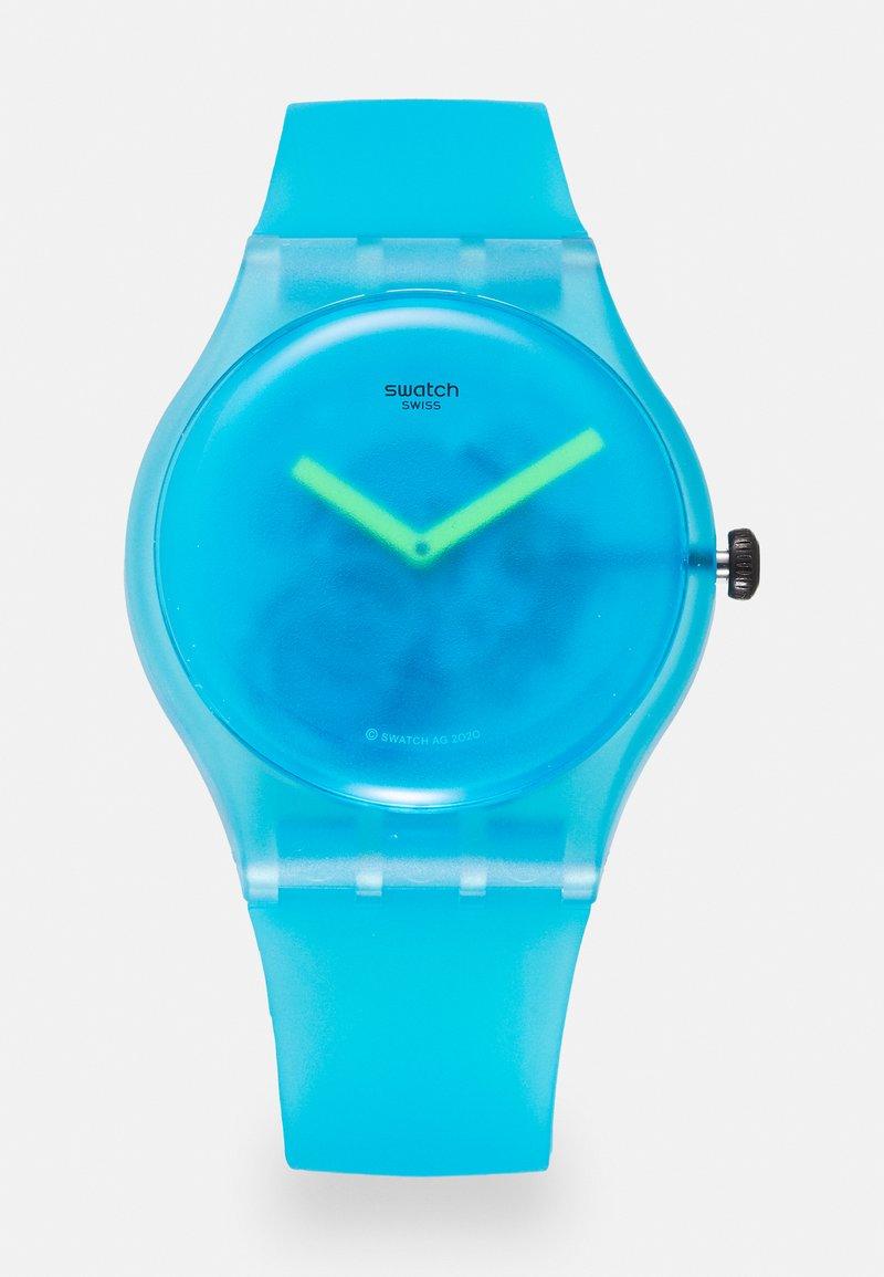 Swatch - OCEAN BLUR UNISEX - Hodinky - blue