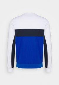 Lacoste Sport - TENNIS - Sweater - white/lazuli/navy blue - 1