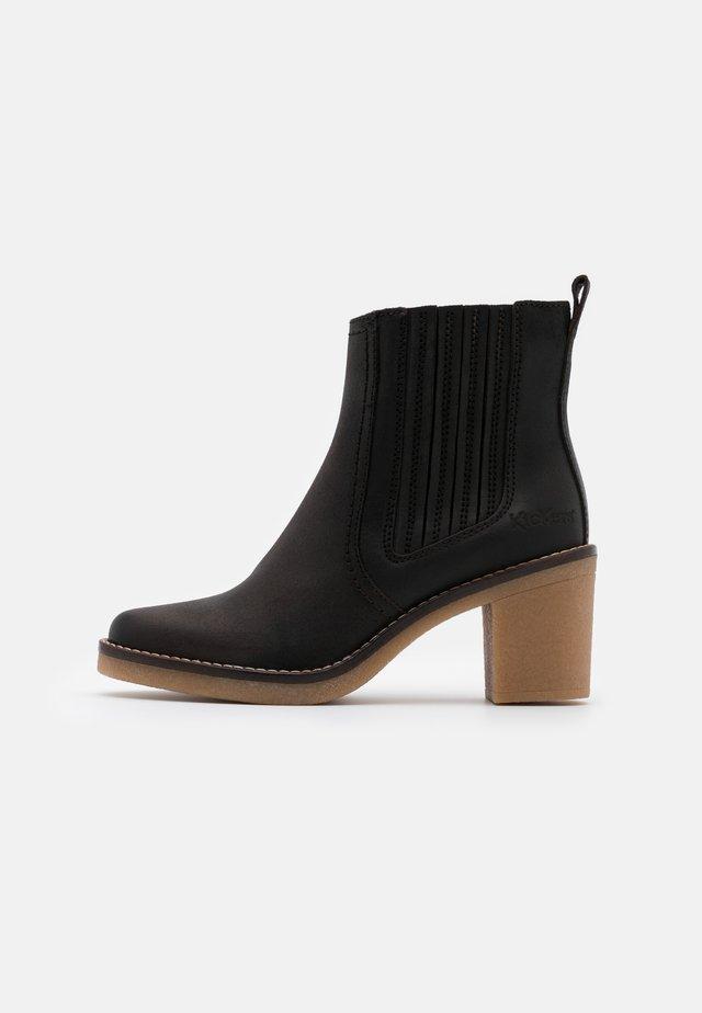 AVERNY - Korte laarzen - black