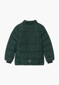 Color Kids - SHORT QUILTED UNISEX - Snowboardová bunda - green gables - 2
