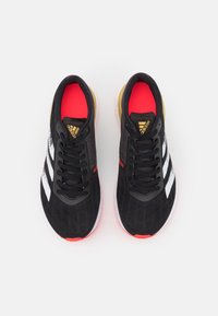 adidas Performance - ADIZERO BOSTON 9  - Competition running shoes - core black/footwear white/gold metallic - 3