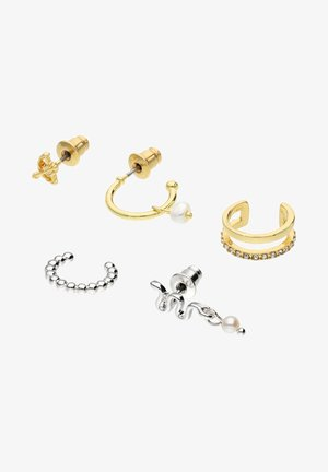 OHRSCHMUCK-SET VON DIANA ZUR LÖWEN - Earrings - gold