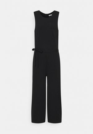 OVERALL SLEEVELESS - Jumpsuit - black