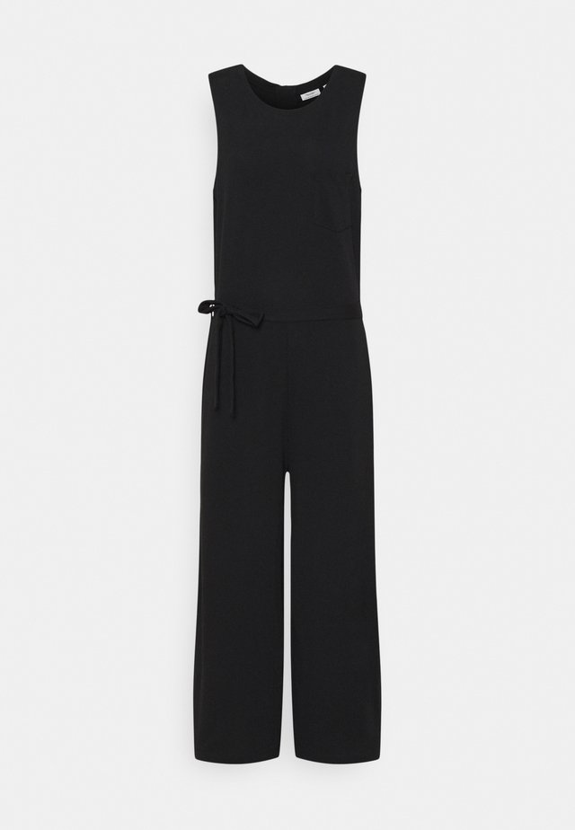 OVERALL SLEEVELESS - Tuta jumpsuit - black