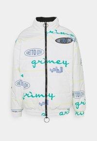 Grimey - ARCH RIVAL REVERSIBLE PUFFY JACKET UNISEX - Zimní bunda - black - 0