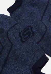 Skechers - CUSHIONED FOOTIES 6 PACK - Trainer socks - jeans mouline - 1