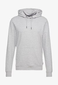 Only & Sons - ONSBASIC HOODIE UNBRUSHED - Hoodie - light grey - 3