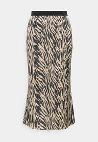 Moss Copenhagen - SANDRA ELLANORA SKIRT - Pencil skirt - black zebra - 3
