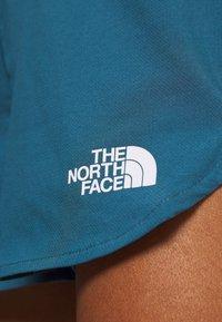 The North Face - WOMENS ACTIVE TRAIL RUN SHORT - Korte broeken - mallard blue - 5