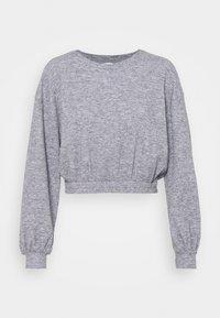 Miss Selfridge - BRUSHED ELASTIC - Sweatshirt - grey - 3