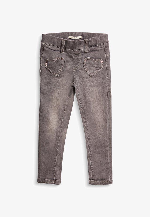 Leggings - Trousers - grey medium washed