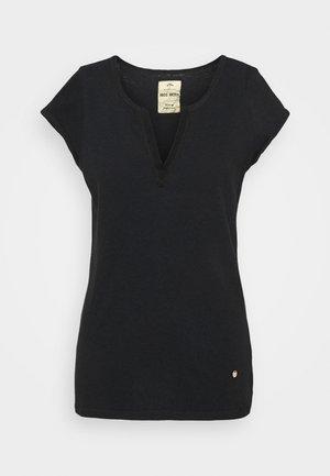 TROY TEE - Basic T-shirt - black