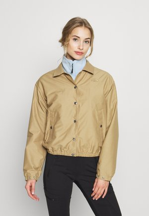 WOMEN'S COACH JACKET - Outdoorová bunda - kelp tan