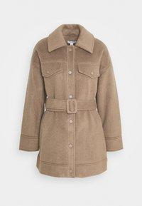 CLARA SHACKET - Classic coat - mink