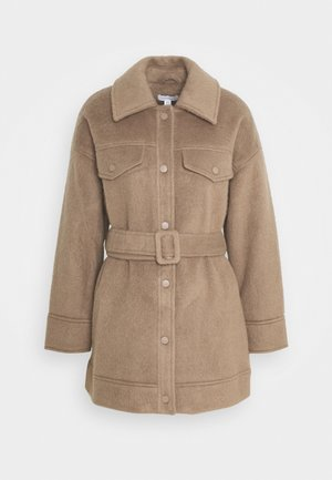 CLARA SHACKET - Classic coat - mink