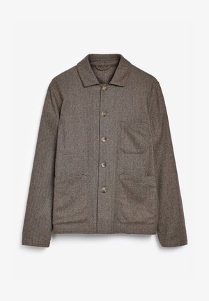 HERRINGBONE WORKER - Chaqueta de entretiempo - brown