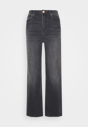 RAVEN THINKTWICE - Straight leg jeans - black denim
