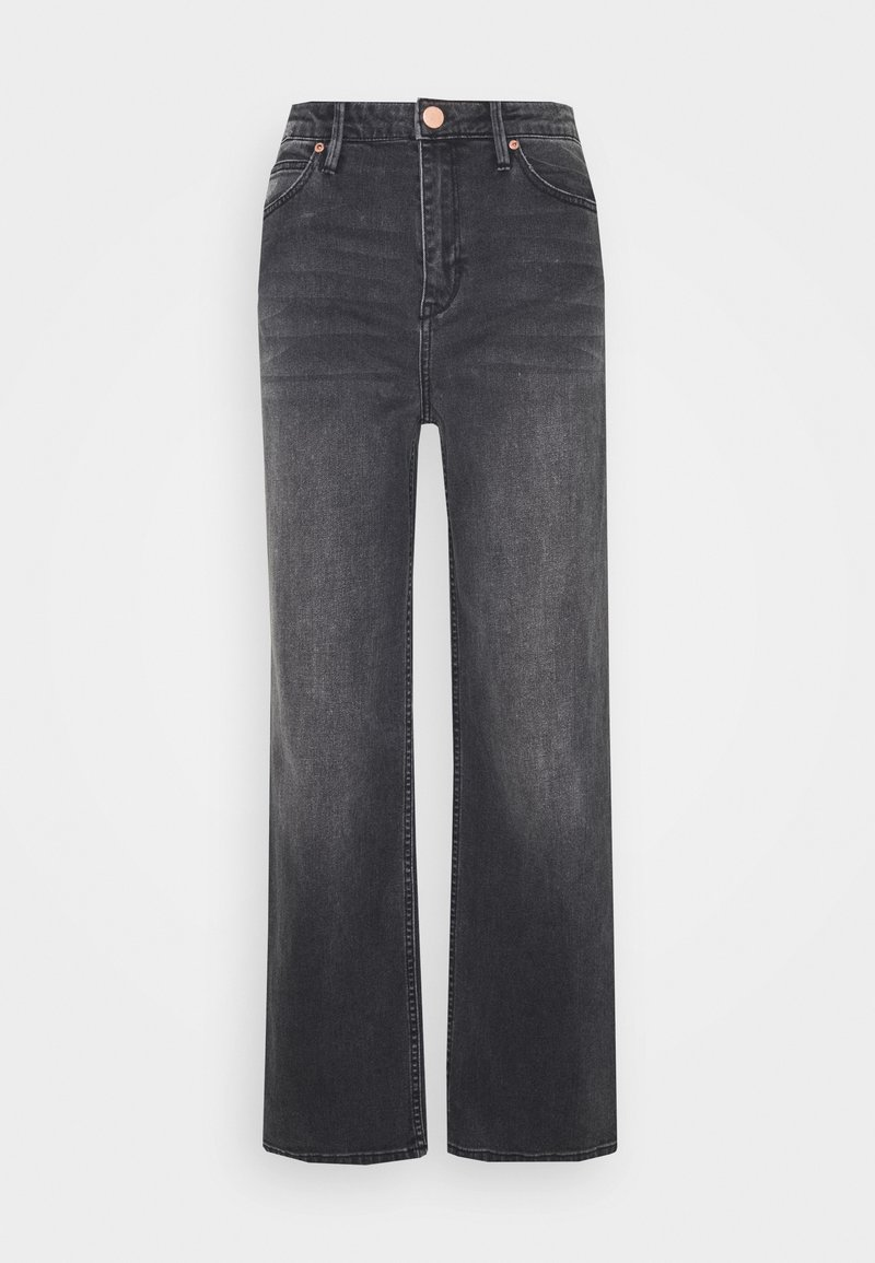 2nd Day - RAVEN THINKTWICE - Straight leg jeans - black denim
