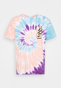 SPIRAL TIE DYE WITH FAR OUT SUN GRAPHIC - T-shirt med print - multicoloured