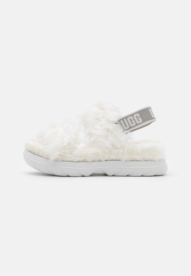 FLUFF SUGAR  - Platåsandaler - white
