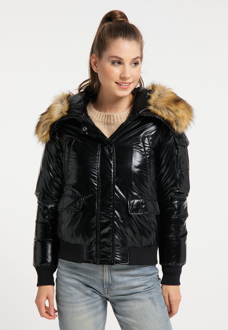 myMo - Light jacket - schwarz