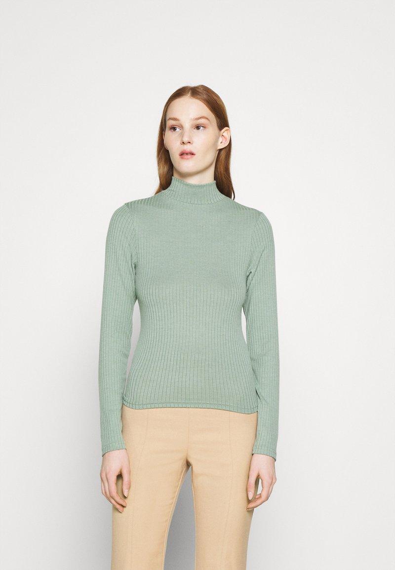 Cotton On - MILA MOCK NECK LONG SLEEVE - Long sleeved top - mountain sage marle