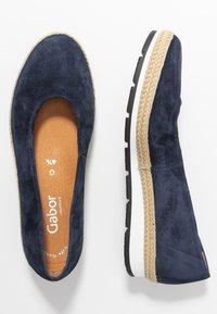 Gabor Comfort - Ballet pumps - marine - 3
