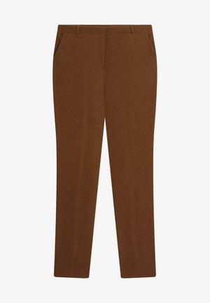 Trousers - kastanienbraun