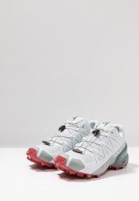 Salomon - SPEEDCROSS 5 - Trail running shoes - illusion blue/stormy weather/garnet - 2