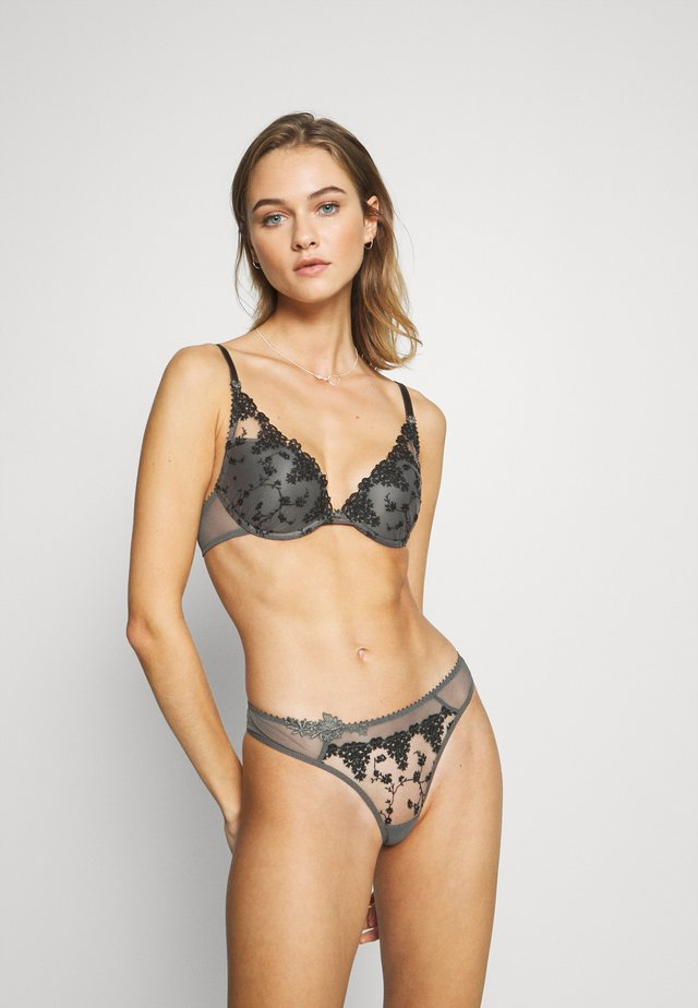 NIGHTS  - Soutien-gorge push-up - gris intense