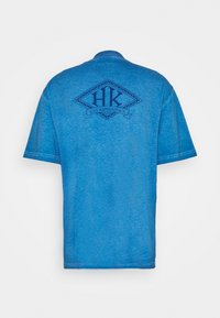 Han Kjøbenhavn - BOXY TEE - Print T-shirt - faded blue - 8