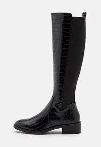 New Look - PLAIN STRETCH BACK  - Vysoká obuv - black - 1