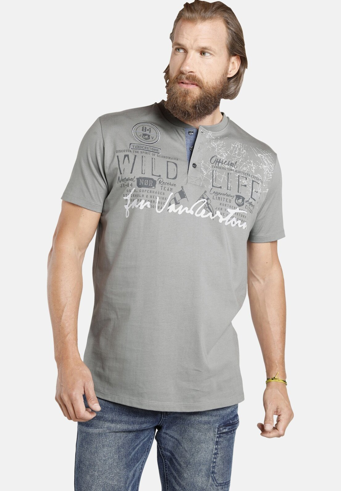 Herren REIDAR - T-Shirt print
