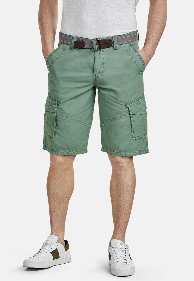 LERROS CARGO-BERMUDA - Shorts - green