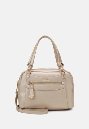 SATCHEL POCKET - Handbag - light gold