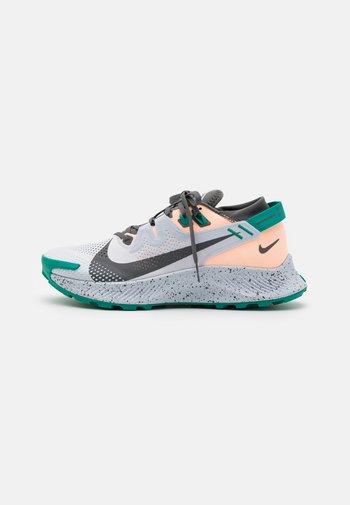 PEGASUS TRAIL 2 - Zapatillas de trail running - football grey/iron grey/crimson tint/neptune green