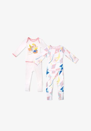 ROAD TRIPPIN EASYWEAR - Pyjama - white and pink
