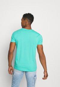 Esprit - LOGO - Print T-shirt - aqua green - 2